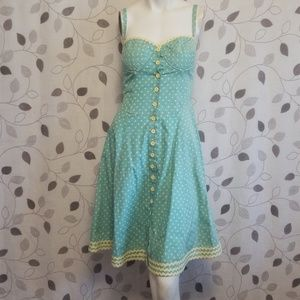 Betsey Johnson Pin Up Style Dress
